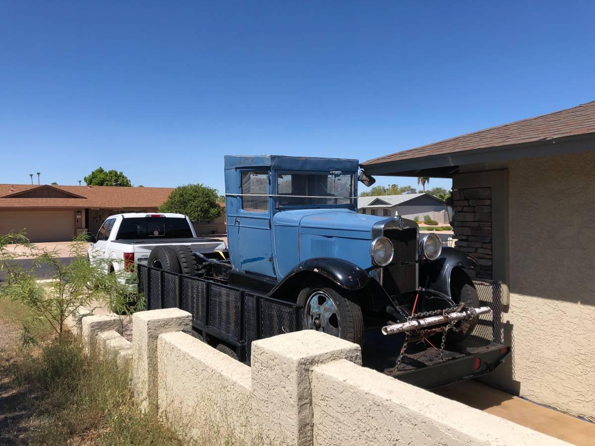 Craigslist find: 1931 Chevy 1 5-ton truck with original parts