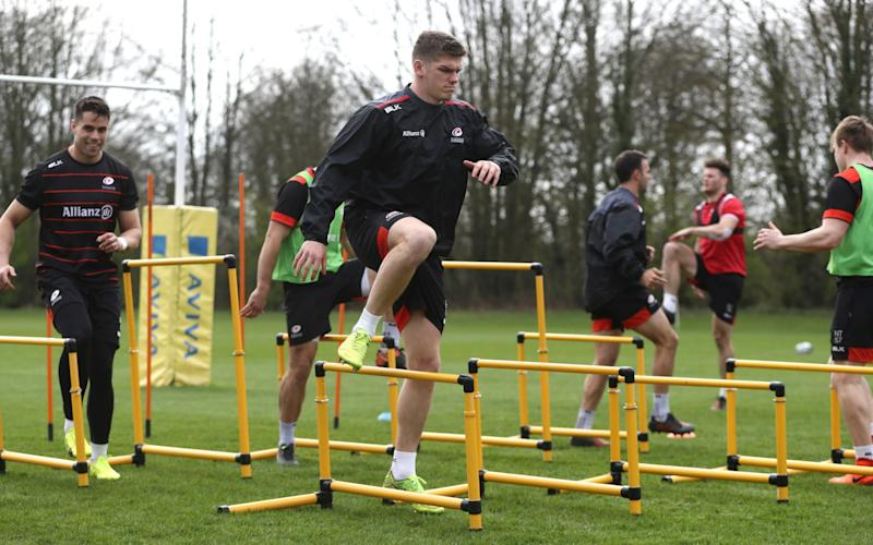 Owen Farrell Saracens - Credit: Getty Images