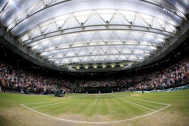 A view of Centre Court