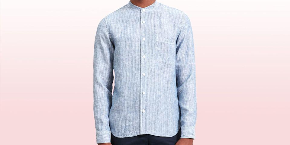 """<p><em>Welcome to <strong>Add to Cart,</strong> a (semi)regular segment that spotlights the best pieces of menswear to buy at a bargain from across the web.</em></p><hr><p class=""""body-dropcap"""">When Everlane launched way back in 2010, the pioneering DTC darling promised to shake up the retail industry with a platform predicated on the idea of """"radical transparency."""" In the decade (!) since, Everlane's established itself as the internet's favorite retailer by hawking a selection of streamlined essentials that—packaged in Instagram-savvy, sans-serif marketing—heralded the arrival of what many now consider the prototypical millennial aesthetic. </p><p>Everlane tends to discount strategically, and though its """"Choose What You Pay"""" sales have become a hallmark of the brand, and a savvy marketing point for a company that prides itself (rightfully <a href=""""https://www.vice.com/en_us/article/akw9ej/everlane-reassures-workers-then-lays-off-and-furloughs-hundreds"""" rel=""""nofollow noopener"""" target=""""_blank"""" data-ylk=""""slk:or not"""" class=""""link rapid-noclick-resp"""">or not</a>) on maintaining on ongoing dialogue with its customers, full-stop sales are still a relative rarity. </p><p>So when the brand does the damn things it does 'em right. Case in point: its annual summer sale, which is always cause for celebration. Right now, Everlane is slashing prices across a select array of democratically priced staples—from near-perfect pocket tees to its signature slim chinos—all ready-made to cure any burgeoning mid-summer blues. </p><p>So shop now, friends, or forever hold your peace because these deals won't stick around long. It's time to get in while the getting's good. </p>"""