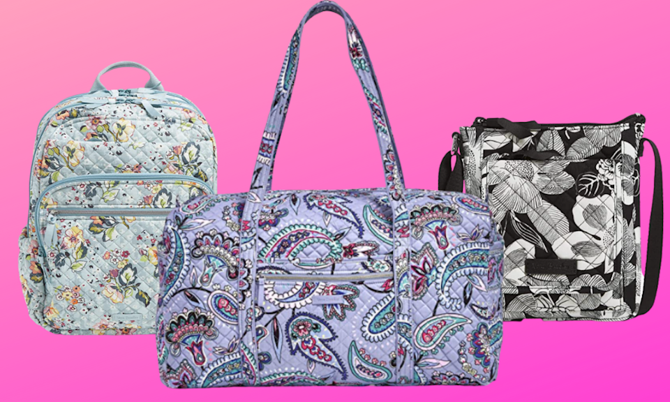 Save up to 52 percent off Vera Bradley bags (Photo: Amazon)