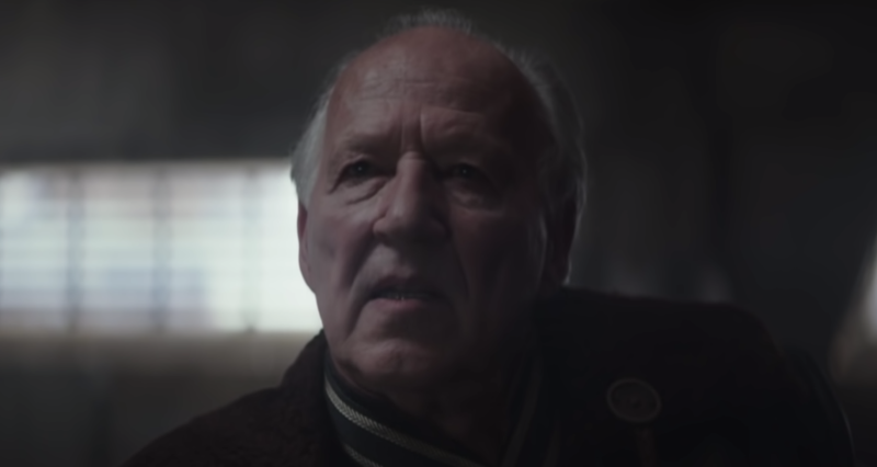Celebrated director Werner Herzog has a key role in 'The Mandalorian' (Photo: Disney/Lucasfilm/YouTube)