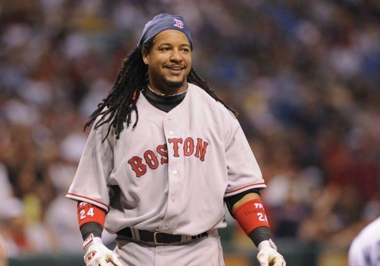 Manny Ramirez hit 555 home runs during his 19-year MLB career. He now has one playing in Japan. (Getty Images)