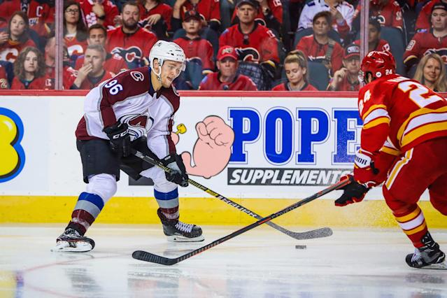 Colorado Avalanche star Mikko Rantanen appears to be in a contract stalemate as the 2019-20 season inches closer. (Sergei Belski-USA TODAY Sports)