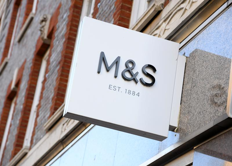 Marks & Spencer in Cambridge city centre during the Coronavirus lockdown. Photo credit should read: Doug Peters/EMPICS