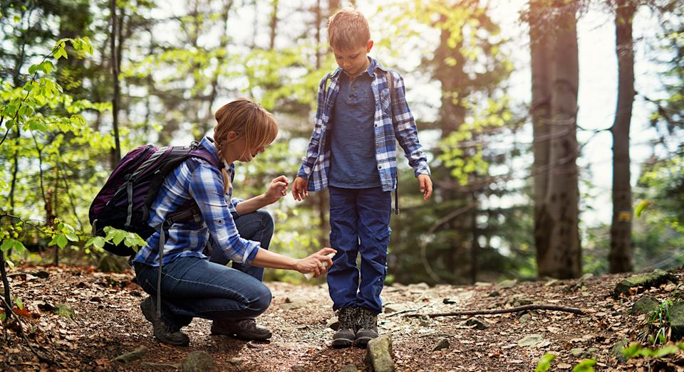 Getting bitten to shreds by mosquitos this summer? This top-rated bug repellent may give you some relief.  (Getty Images)