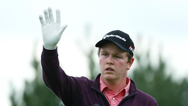 Day two of the European Open on Friday saw Scotland's Robert MacIntyre make a brilliant 65 to power into the lead.