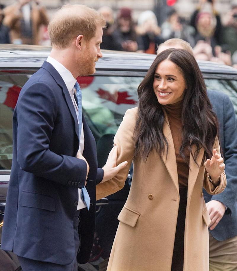 Prince Harry and Meghan Markle | Samir Hussein/WireImage