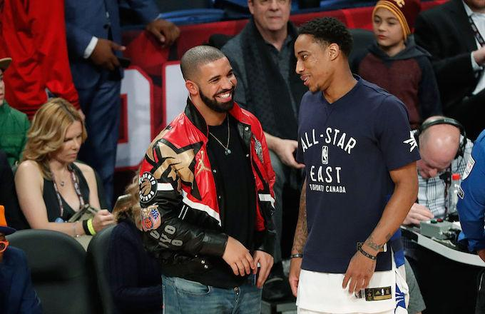 Drake Thanks DeMar DeRozan for Being an 'Incredible Captain and an