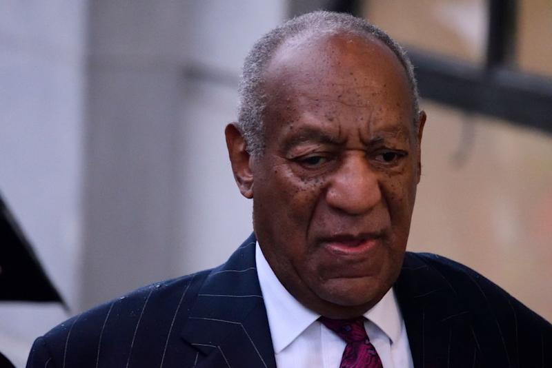 Bill Cosby appears in court on Sept. 25. More