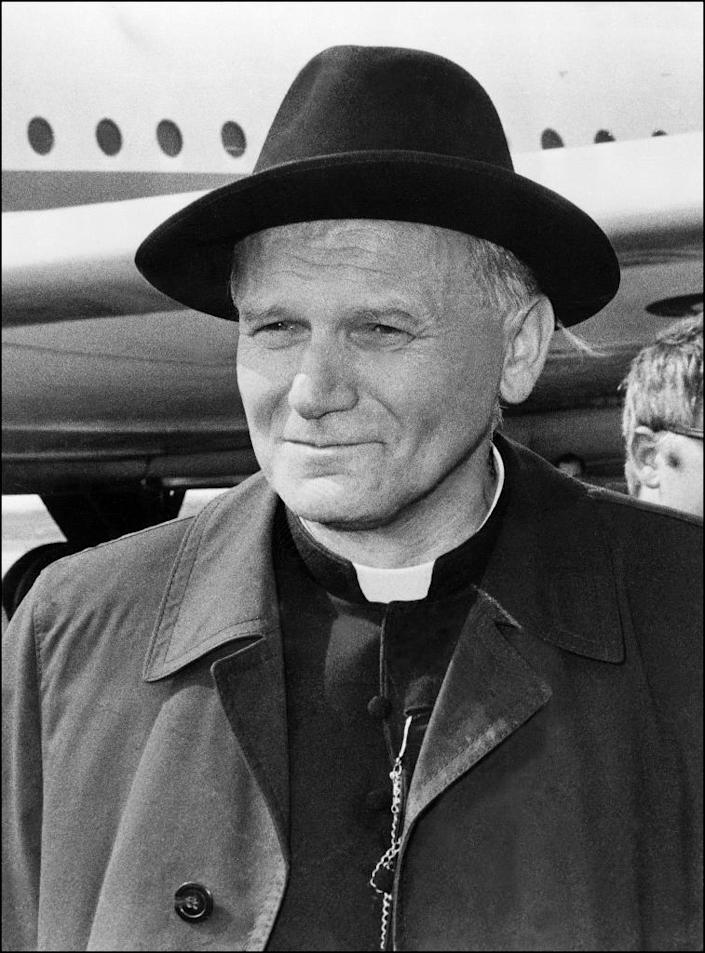 """The BBC documentary alleged that Polish cardinal Karol Wojtyla II and US academic Anna-Teresa Tymieniecka were """"more than friends but less than lovers"""" (AFP Photo/)"""