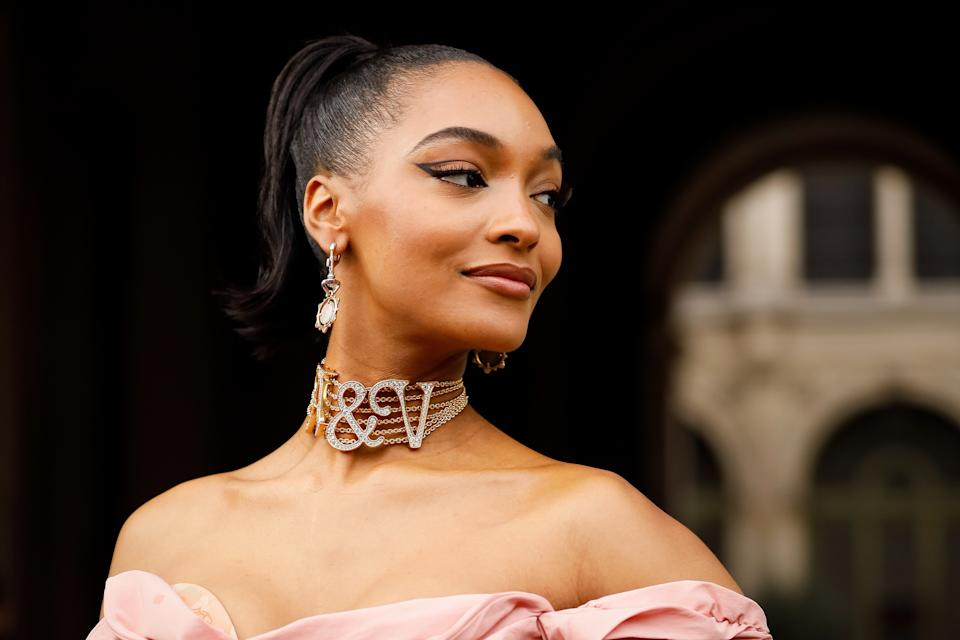 Jourdan Dunn says she 'knows her worth' and will now ask to be paid what she is owed. (Hanna Lassen/Getty Images)