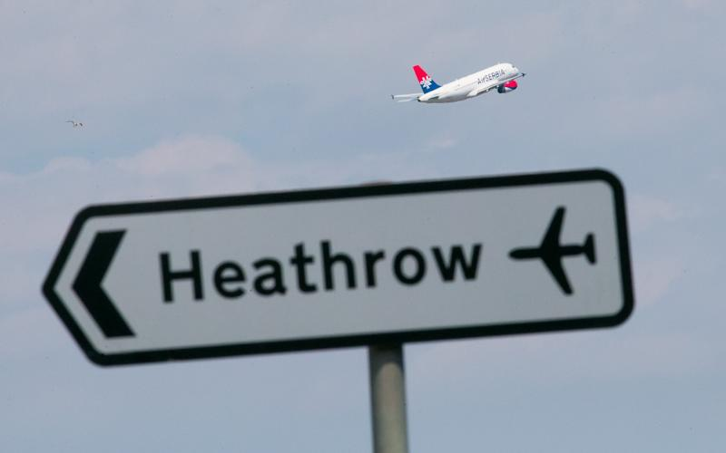 File photo dated 01/07/15 of a plane taking off at Heathrow airport - Credit: PA