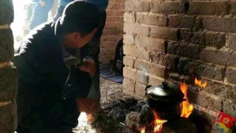 Great Wall of China damaged by visitors cooking meal over campfire