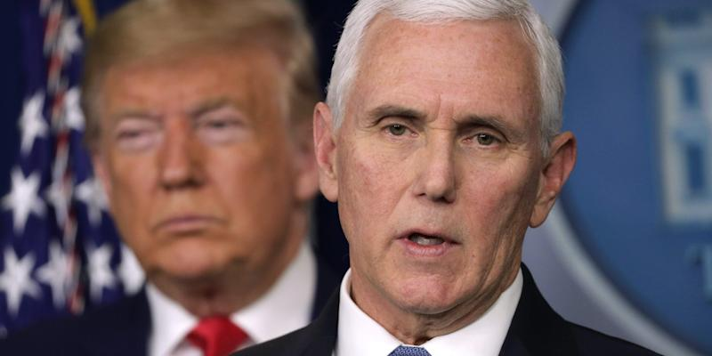 Mike Pence sent 'love and prayers' to Trump and Melania after they tested positive for COVID-19. He is in line to take over if Trump can't lead.