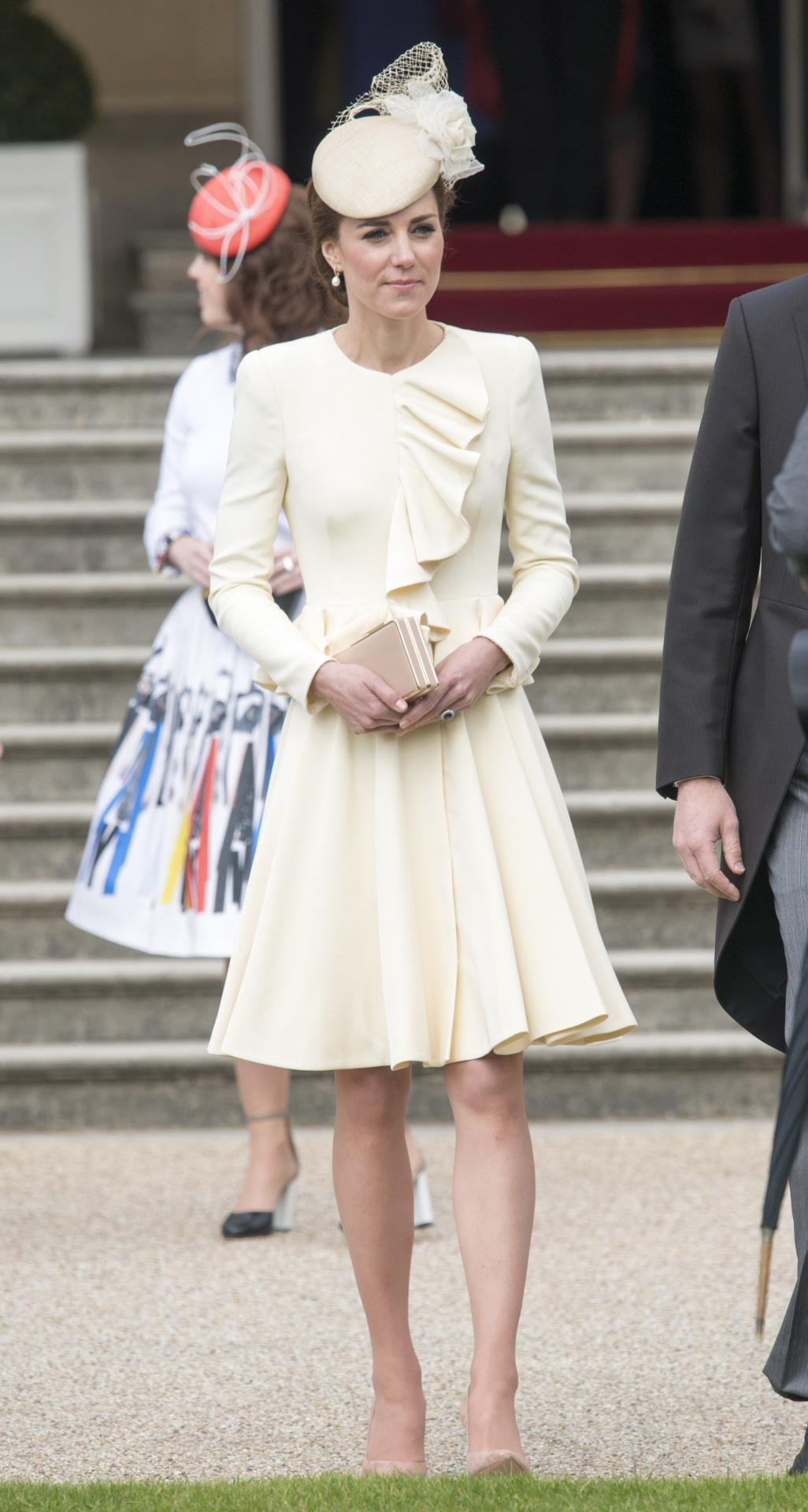 Duchess Of Cambridge Dusts Off Old Alexander Mcqueen