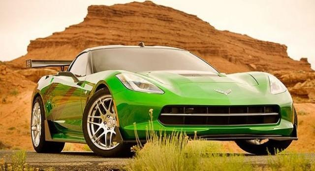 Crosshairs - 2016 Chevrolet Corvettee C7 Stingray