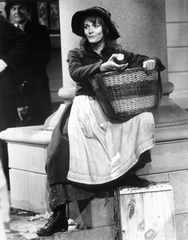 <p>Kidder played the Eliza Doolittle role that Audrey Hepburn helped make famous, in the 1983 TV movie <i>Pygmalion</i>. Eight-time Oscar nominee Peter O'Toole was her Henry Higgins. (Photo: 20th Century Fox Television/courtesy of Everett Collection) </p>
