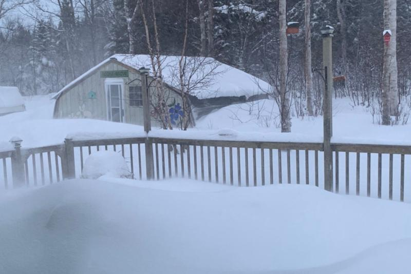 Damaging winds whip into Newfoundland, dangerous whiteout conditions