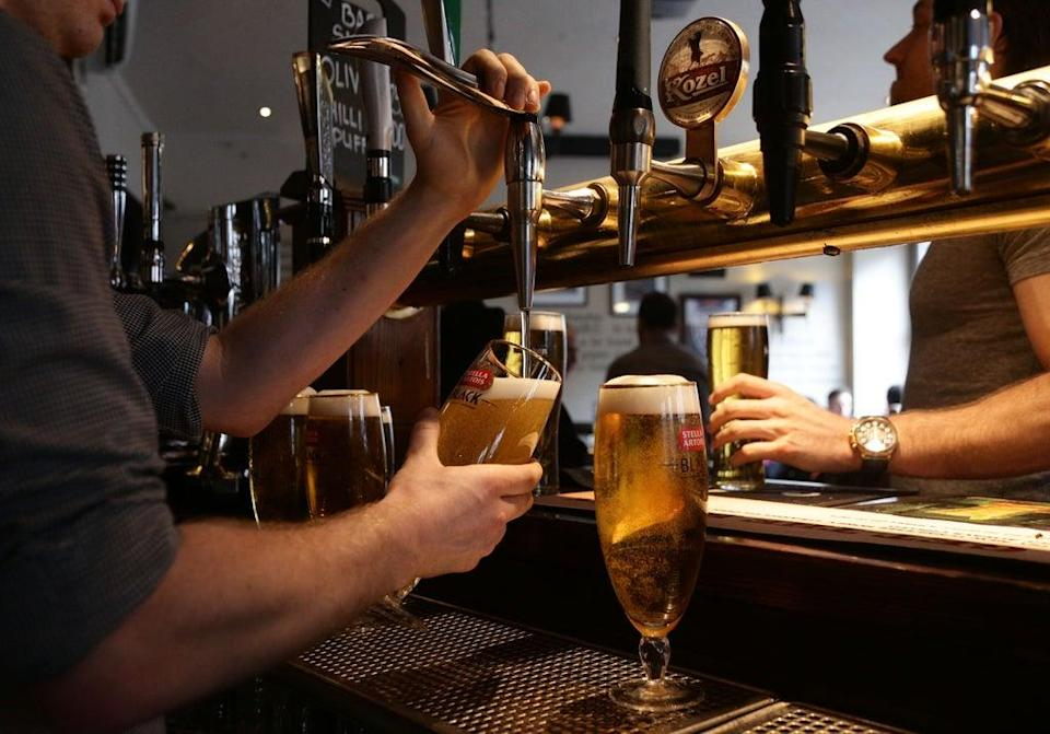 Pub staff have been trained to recognise the signs that people are vulnerable or in danger (Yui Mok/PA) (PA Archive)
