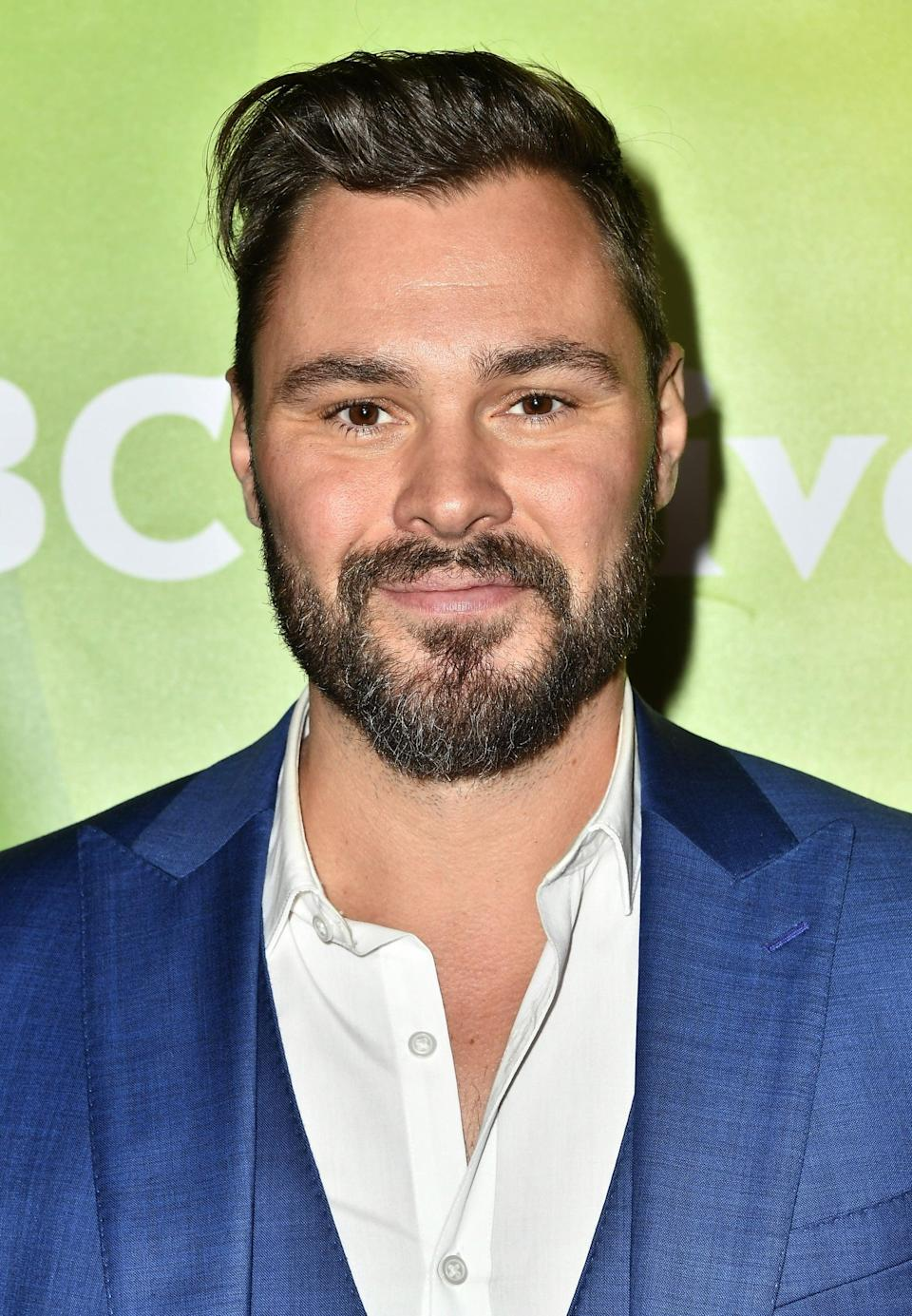 "<p>Patrick John Flueger has come a long way from cohosting a public access show as Jeremiah Hart! The talented actor joined the Dick Wolf family in 2014 with a lead role in <strong>Chicago P.D.</strong> He has since appeared in sister shows <strong>Chicago Fire</strong> and <strong>Chicago Med</strong>. It was <a href=""http://www.themarysue.com/captain-america-actors/"" class=""link rapid-noclick-resp"" rel=""nofollow noopener"" target=""_blank"" data-ylk=""slk:rumored that Flueger even screen-tested"">rumored that Flueger even screen-tested</a> for Captain America in 2010 before <a href=""http://www.popsugar.com/Chris-Evans"" class=""link rapid-noclick-resp"" rel=""nofollow noopener"" target=""_blank"" data-ylk=""slk:Chis Evans"">Chis Evans</a> nabbed the role. </p>"