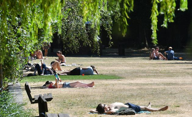 Admittedly, it probably won't be warm enough for sunbathing