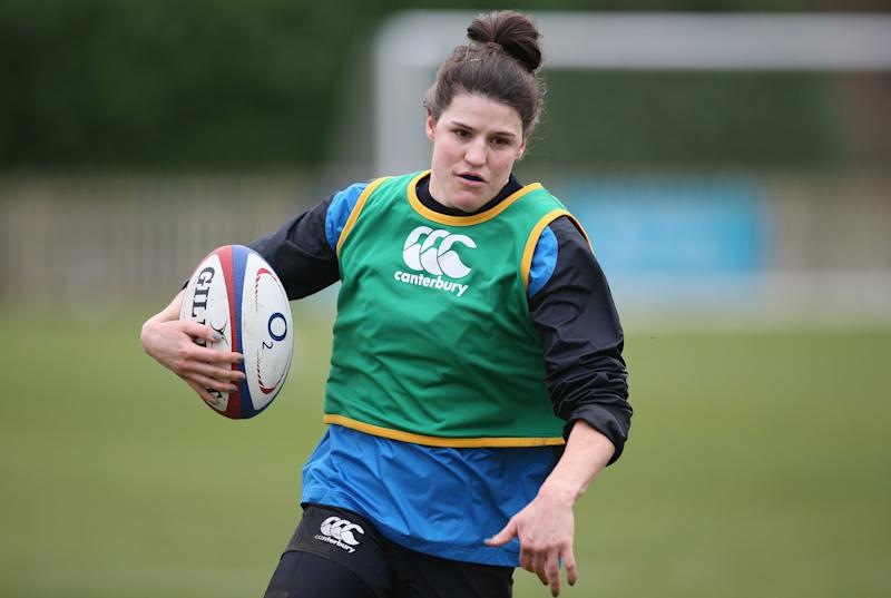 Ellie Underwood's recent performances in a Gloucester-Hartpury shirt earned her a call-up to the England squad during the Six Nations