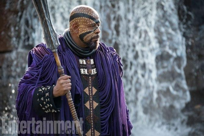 Forest Whitaker as Zuri (Credit: Entertainment Weekly, Matt Kennedy/©Marvel Studios 2018)