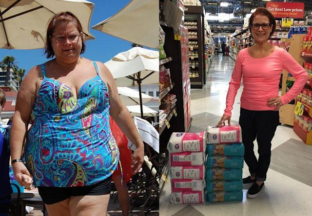 Pam Horrocks used the Take Shape for Lifediet plan to lose weight.