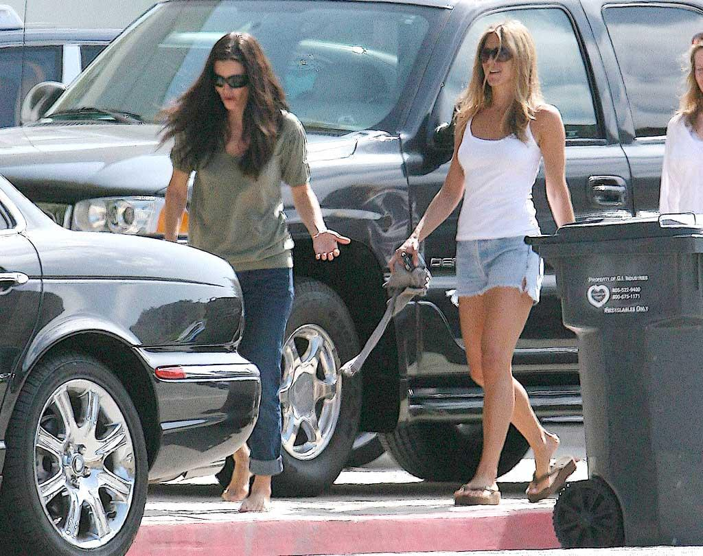 "Courteney Cox Arquette and Jennifer Aniston have been BFFs since meeting at an audition for ""Friends"" in 1994. AlphaX/<a href=""http://www.x17online.com"" target=""new"">X17 Online</a> - May 28, 2007"