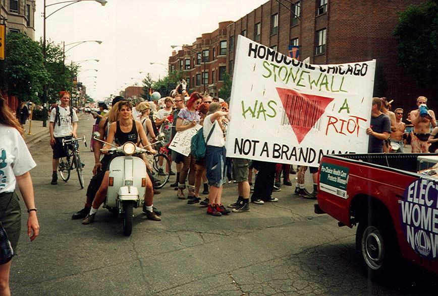 Trio of photos from Queercore: How to Punk a Revolution