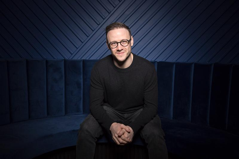 Strictly star Kevin Clifton plays the lead role in a musical adaptation of The Wedding Singer (Matt Writtle)
