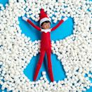 """<p>If you've got to stay at home this winter, why not bring the fun of the outdoors...inside? These marshmallows make it easy for your Scout Elf to construct his very own """"snow angel.""""</p><p><strong>Get the tutorial at <a href=""""https://elfontheshelf.com/elf-ideas/scout-elf-snow-angel/"""" rel=""""nofollow noopener"""" target=""""_blank"""" data-ylk=""""slk:Elf on the Shelf"""" class=""""link rapid-noclick-resp"""">Elf on the Shelf</a>.</strong></p><p><a class=""""link rapid-noclick-resp"""" href=""""https://go.redirectingat.com?id=74968X1596630&url=https%3A%2F%2Fwww.walmart.com%2Fsearch%2F%3Fquery%3Dmini%2Bmarshmallows&sref=https%3A%2F%2Fwww.thepioneerwoman.com%2Fholidays-celebrations%2Fg34080491%2Ffunny-elf-on-the-shelf-ideas%2F"""" rel=""""nofollow noopener"""" target=""""_blank"""" data-ylk=""""slk:SHOP MINI MARSHMALLOWS"""">SHOP MINI MARSHMALLOWS</a></p>"""