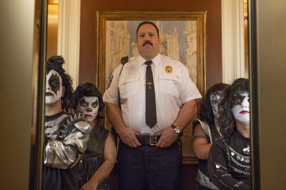 "<p>Again, I find it bizarre that the first <em>Paul Blart</em> movie was made in 2009, but I suppose it <em>is</em> funny—for 14-year-olds and slapstick enthusiasts. Those two camps may find some enjoyment out of <em>Paul Blart: Mall Cop 2,</em> but for anyone else, it's a pass. </p> <p><a href=""https://www.amazon.com/Paul-Blart-Mall-Cop-2/dp/B00W96OEV4/ref=sr_1_1?dchild=1&keywords=Paul+Blart%3A+Mall+Cop+2&qid=1595342144&sr=8-1"" rel=""nofollow noopener"" target=""_blank"" data-ylk=""slk:Stream on Amazon Prime Video"" class=""link rapid-noclick-resp""><em>Stream on Amazon Prime Video</em></a></p>"