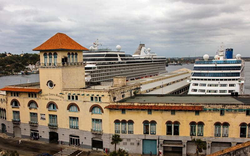 Havana cruise port - Credit: Craig Lovell / Eagle Visions Photography / Alamy Stock Photo