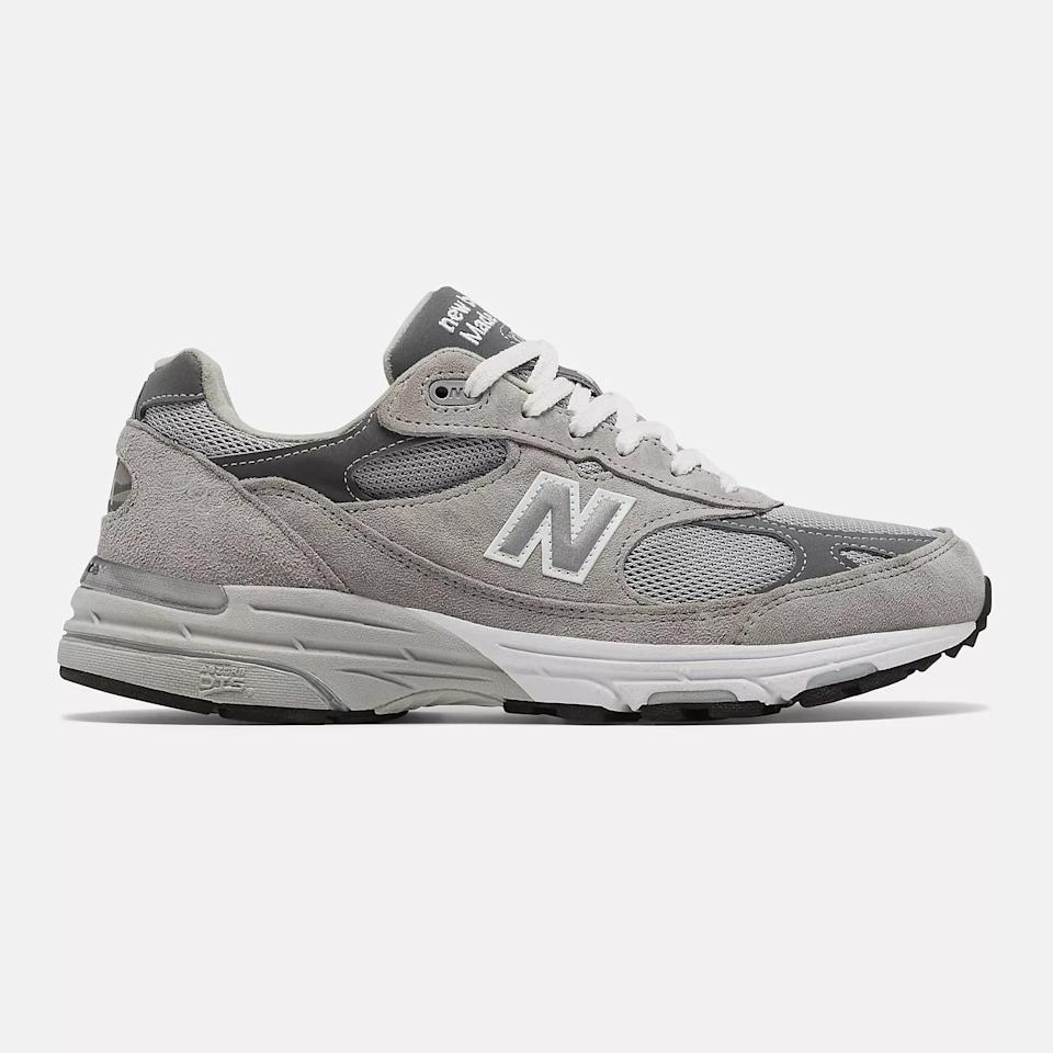 <p>These <span>New Balance Made in US 993 Sneakers</span> ($185) are a classic for a reason.</p>