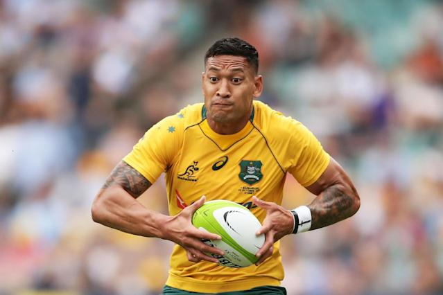Israel Folau offered to rip up Australia contract over anti-gay rant