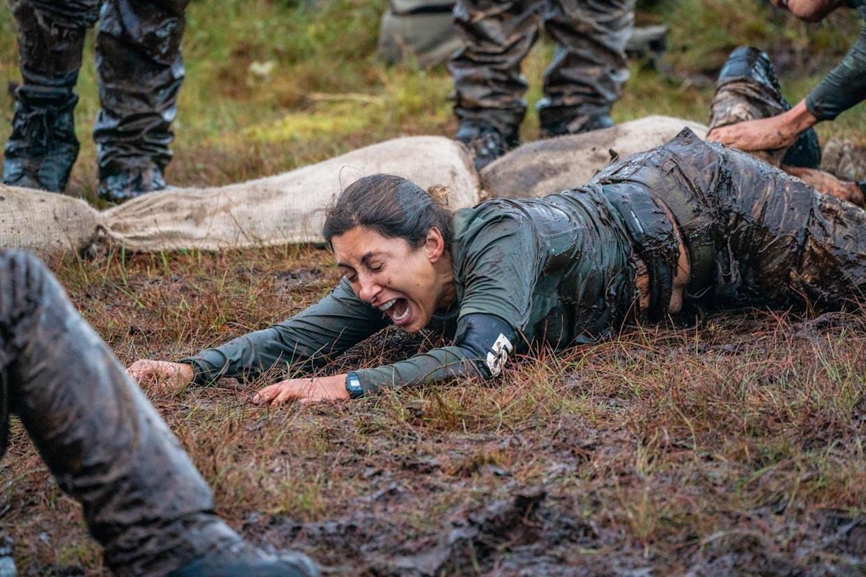 Saira Khan took part in the third series of 'Celebrity SAS: Who Dares Wins' this year. (Channel 4)