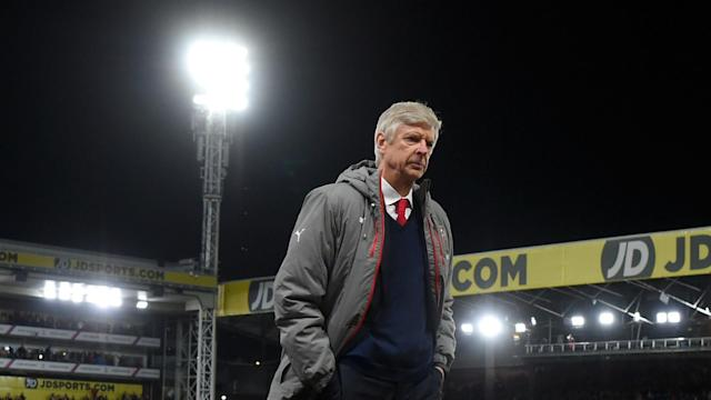 A 3-0 loss at Selhurst Park on Monday left the Gunners' top-four hopes in shreds and the manager admitted he was worried about his side