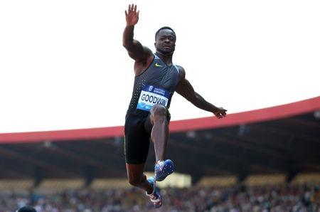Britain Athletics - Birmingham Diamond League - Alexander Stadium, Birmingham - 5/6/16 Marquise Goodwin of the USA in action during the men's long jump Action Images via Reuters / Matthew Childs