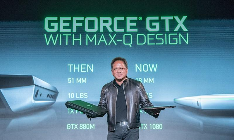 Nvidia shares slide ahead of earnings