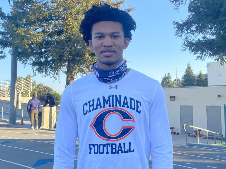 Chaminade quarterback Jaylen Henderson was set to compete with teammates in a seven on seven tournament on Wednesday in Bullhead City, Ariz.