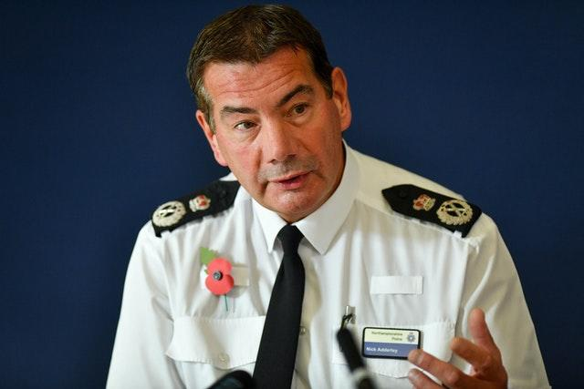 Chief Constable of Northamptonshire Police, Nick Adderley