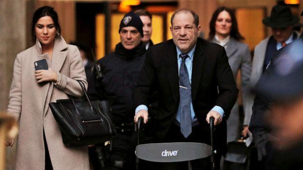 PHOTO: Harvey Weinstein leaves court after another day in a sexual assault trial at the New York State Supreme Court in Manhattan, Jan. 29, 2020. (Lucas Jackson/Reuters)