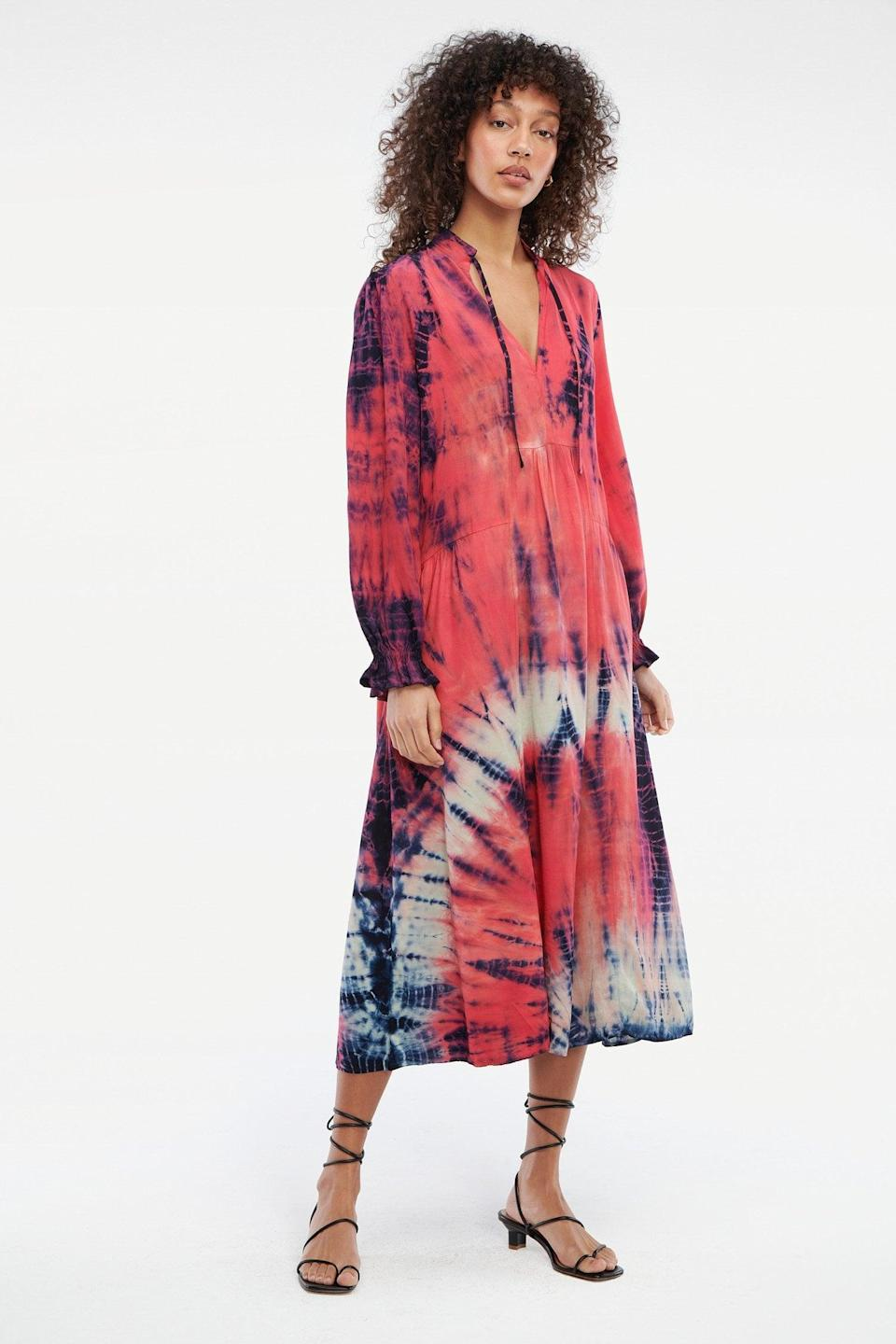 <p>We're eyeing this <span>LACAUSA Roma Dress</span> ($198) for when we feel like a punchy print, which is basically always.</p>