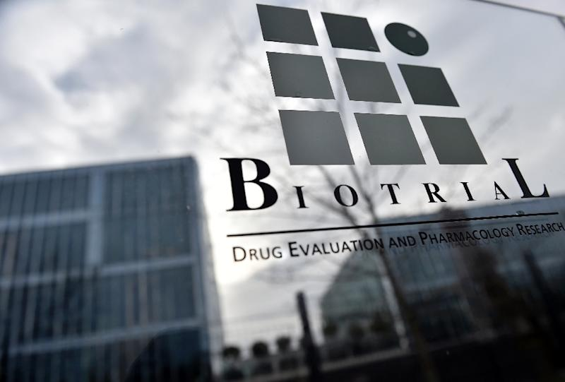 The Biotrial laboratory in Rennes, western France, where a clinical trial of an oral medication left one person brain-dead and five hospitalised (AFP Photo/Loic Venance)