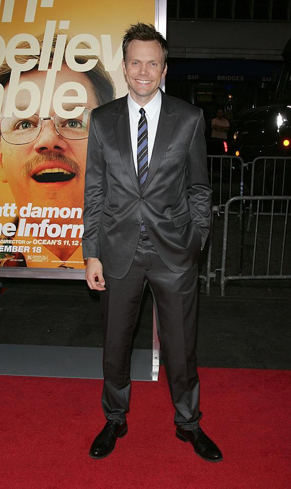 "<a href=""http://movies.yahoo.com/movie/contributor/1807473795"">Joel McHale</a> at the New York City premiere of <a href=""http://movies.yahoo.com/movie/1810035860/info"">The Informant!</a> - 09/15/2009"