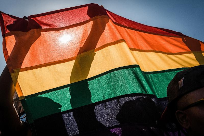Anti-gay: Ethiopia is one of the majority of countries in Africa where same-sex relations are illegal (AFP Photo/RAJESH JANTILAL)