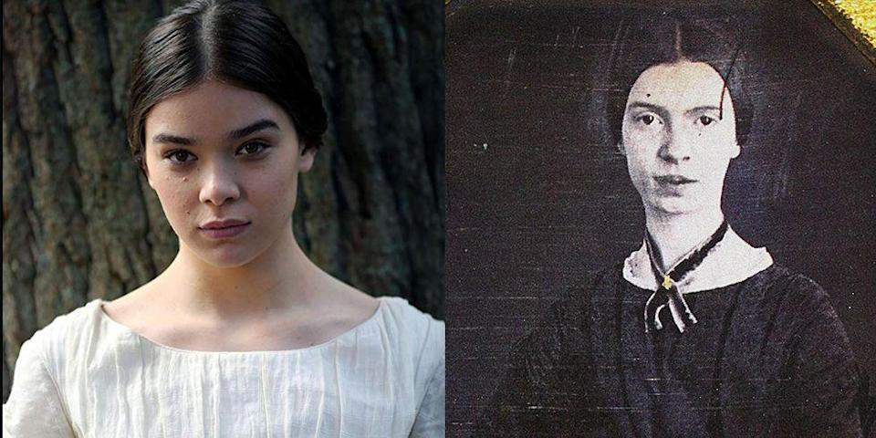 <p>Apple TV's new series, <em>Dickinson</em>, pushes the envelope by portraying the unconventional life of Emily Dickinson, and Steinfeld portraying the famous poet to a T. </p>
