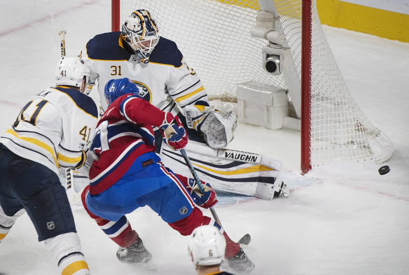 Max Pacioretty scores in overtime, Canadiens edge Sabres 2-1